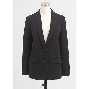 J. CREW Crepe Blazer Career Jacket